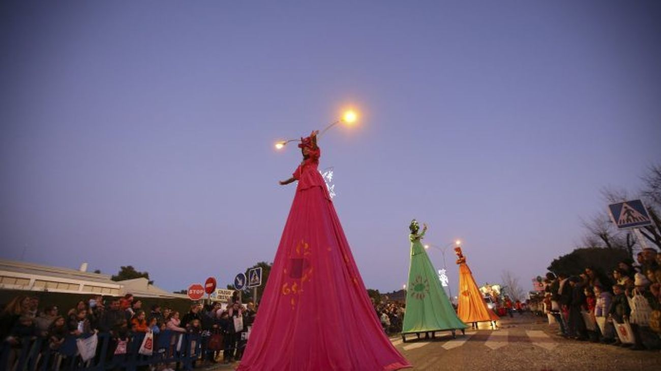 Así se enciende la Navidad en los municipios madrileños
