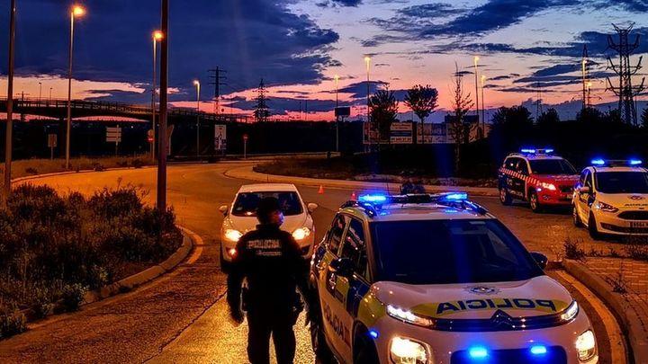 La Policía de Alcorcón localiza al conductor que se dio a la fuga tras provocar un accidente