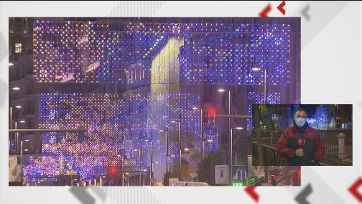 Últimos ensayos para el encendido de las luces de Navidad en Madrid el jueves 26 de noviembre