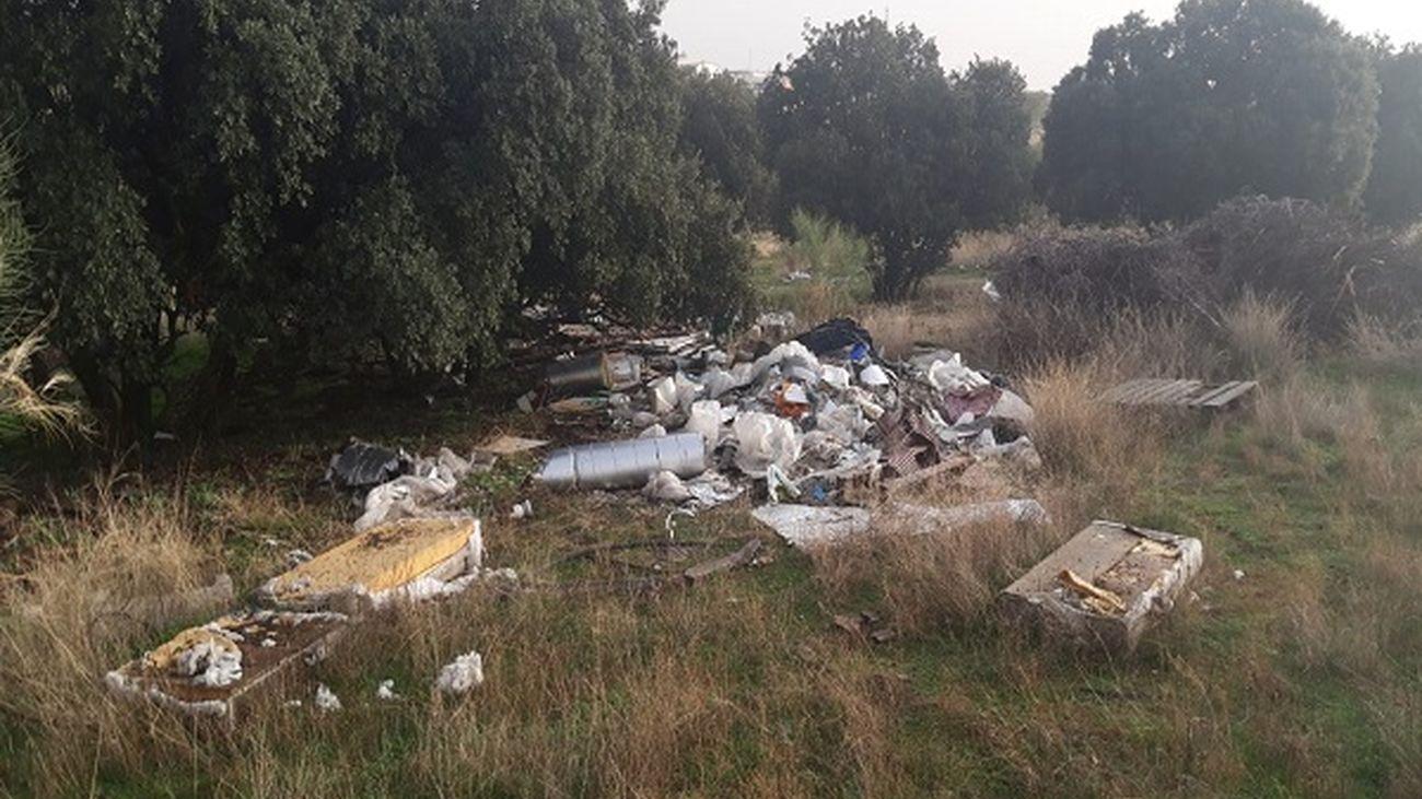 Los residuos de la discordia entre Boadilla y Villaviciosa