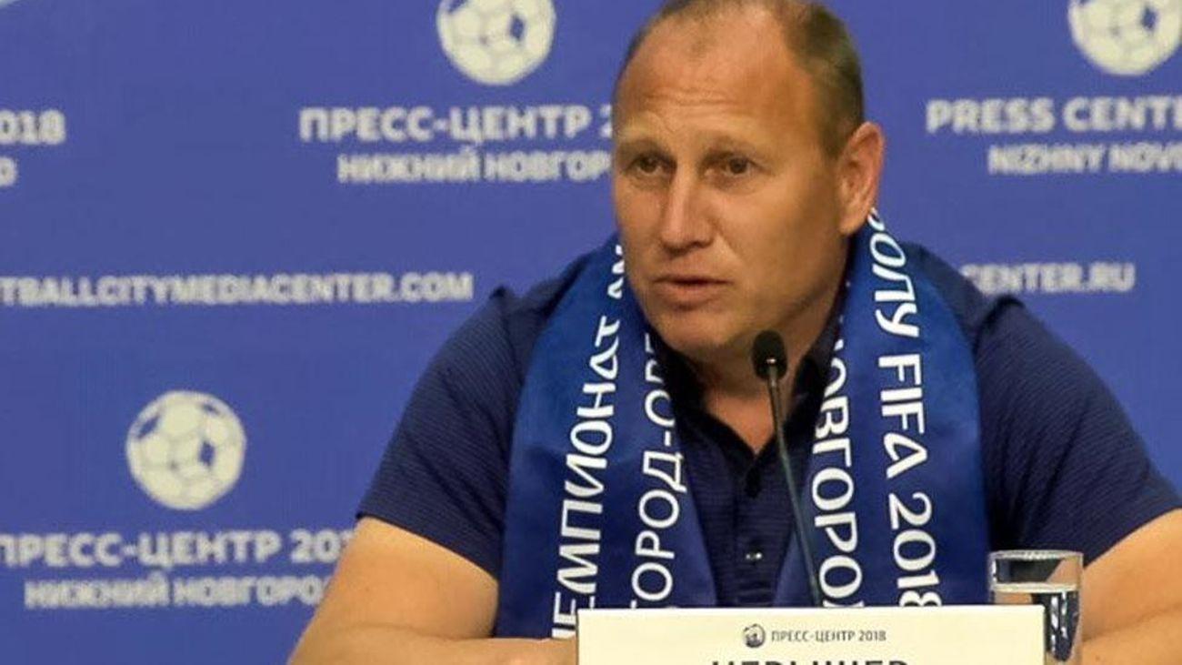 Dmitry Cheryshev, entrenador ruso