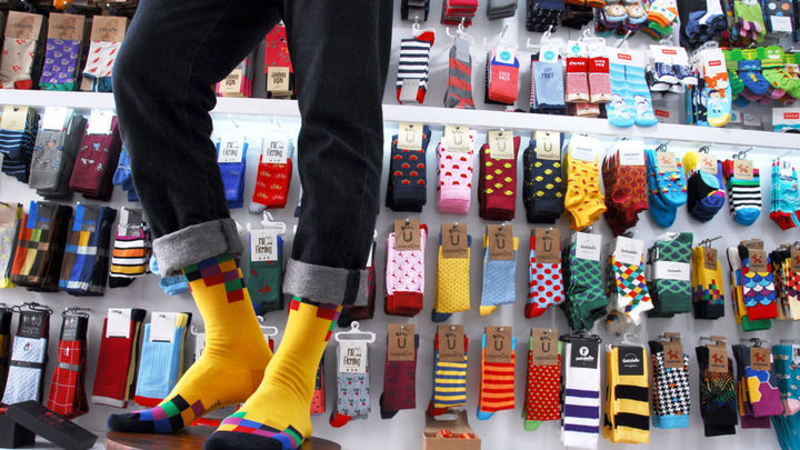 Cómo resiste un pequeño comercio de venta de calcetines la crisis del COVID-19