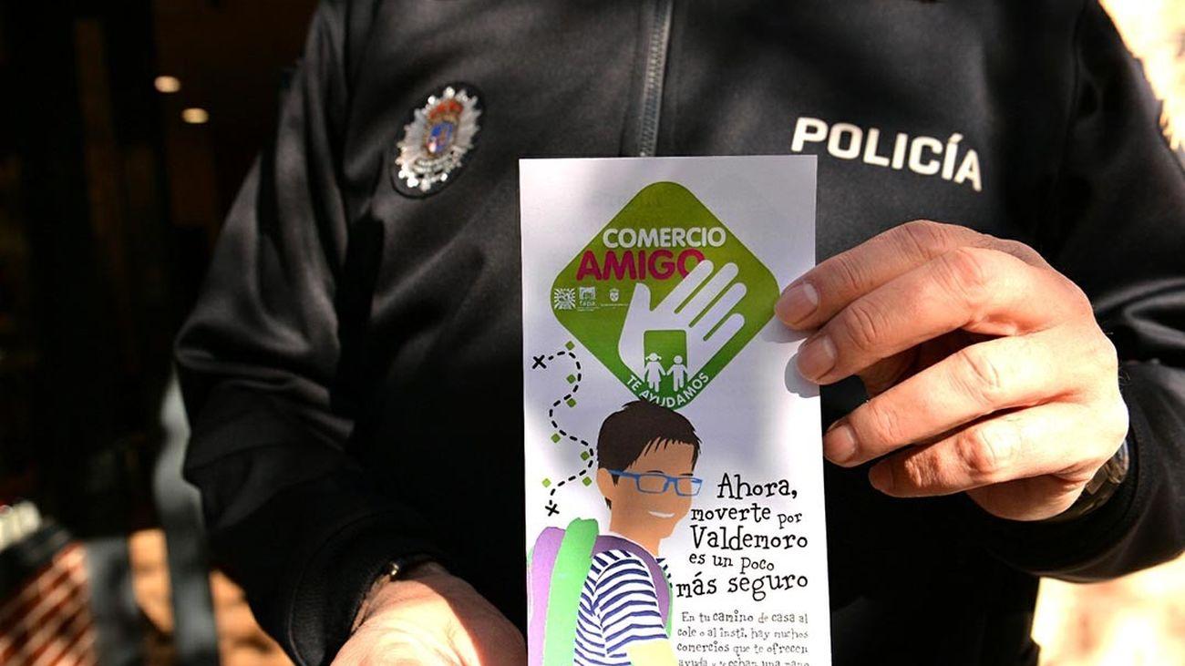 Campaña 'Comercio amigo' en Valdemoro