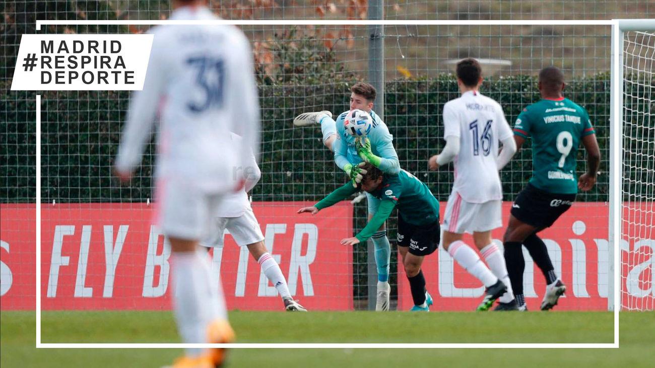 1-1. El Castilla empata con el Atlético Baleares en un partido aplazado