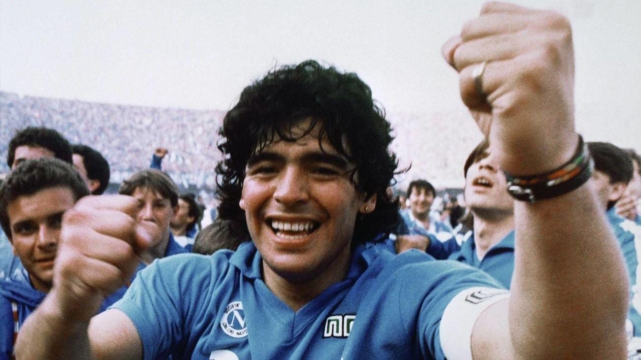 Imagen del documental Diego Maradona de Asif Kapadia