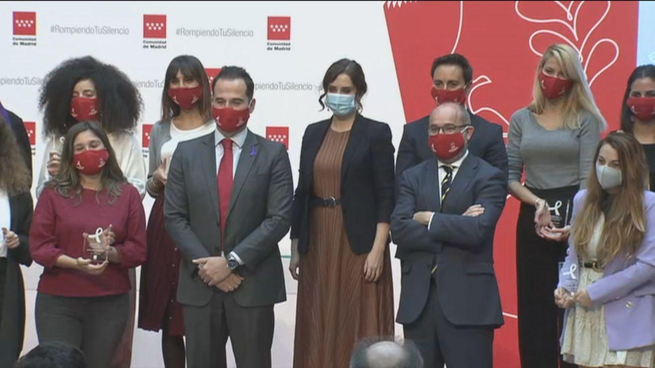 Apoyo institucional en Madrid a las víctimas de la violencia de género