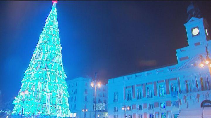 Las luces de diseño de la Navidad de Madrid