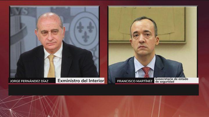 """Careo entre Francisco Martínez y Fernández Díaz: """"No oímos hablar de Kitchen, pero preguntaste por el chófer"""""""