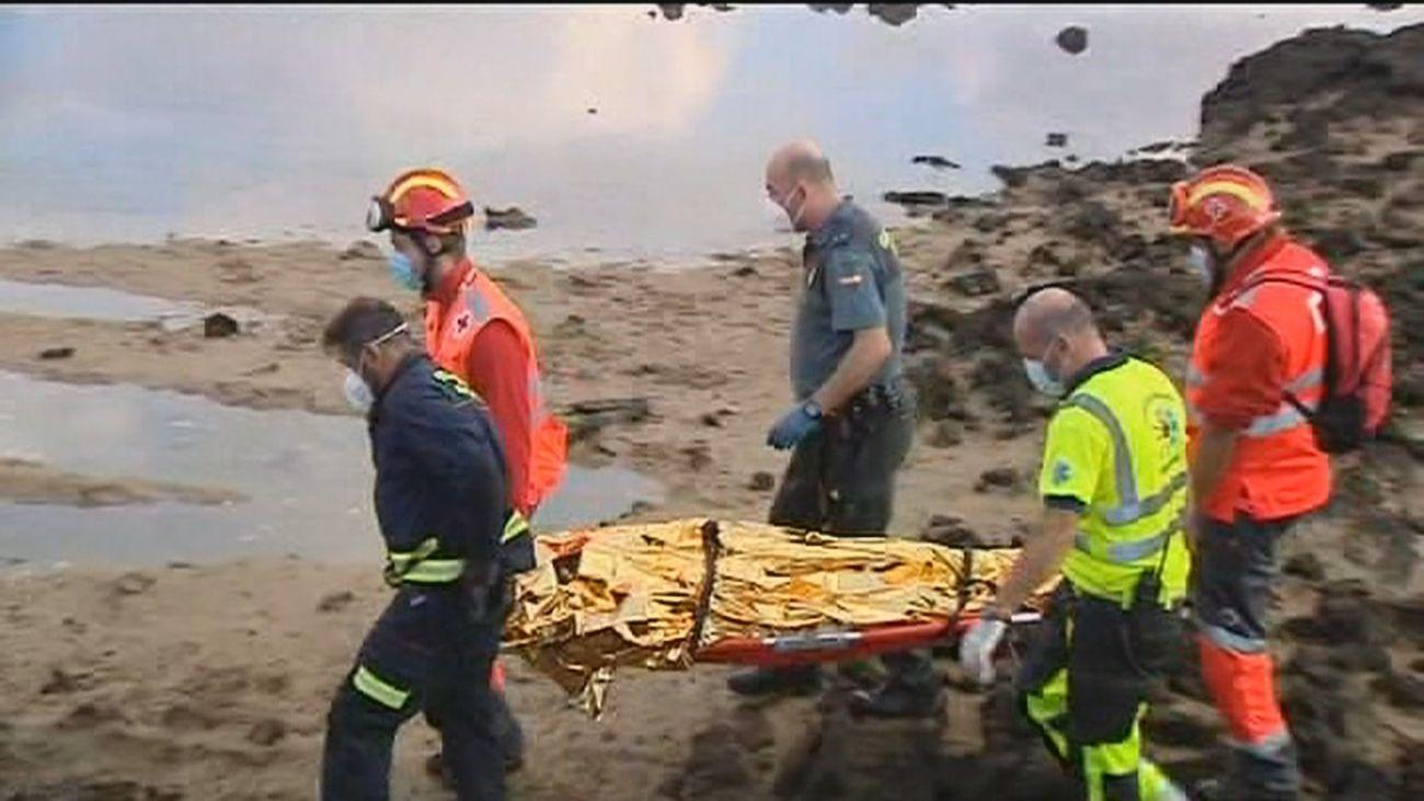 Se elevan a 8 las víctimas mortales del naufragio de Lanzarote