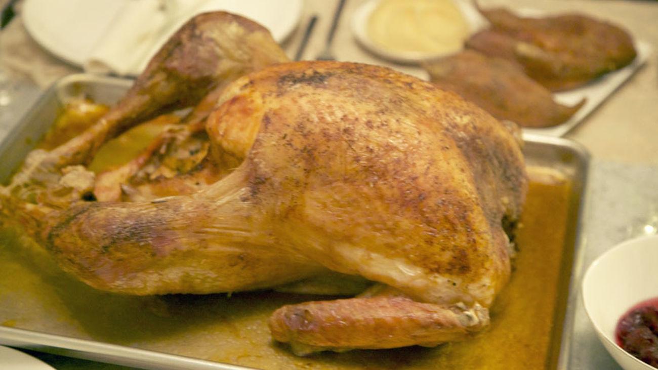 Con ustedes...la famosa receta del pavo de Acción de Gracias