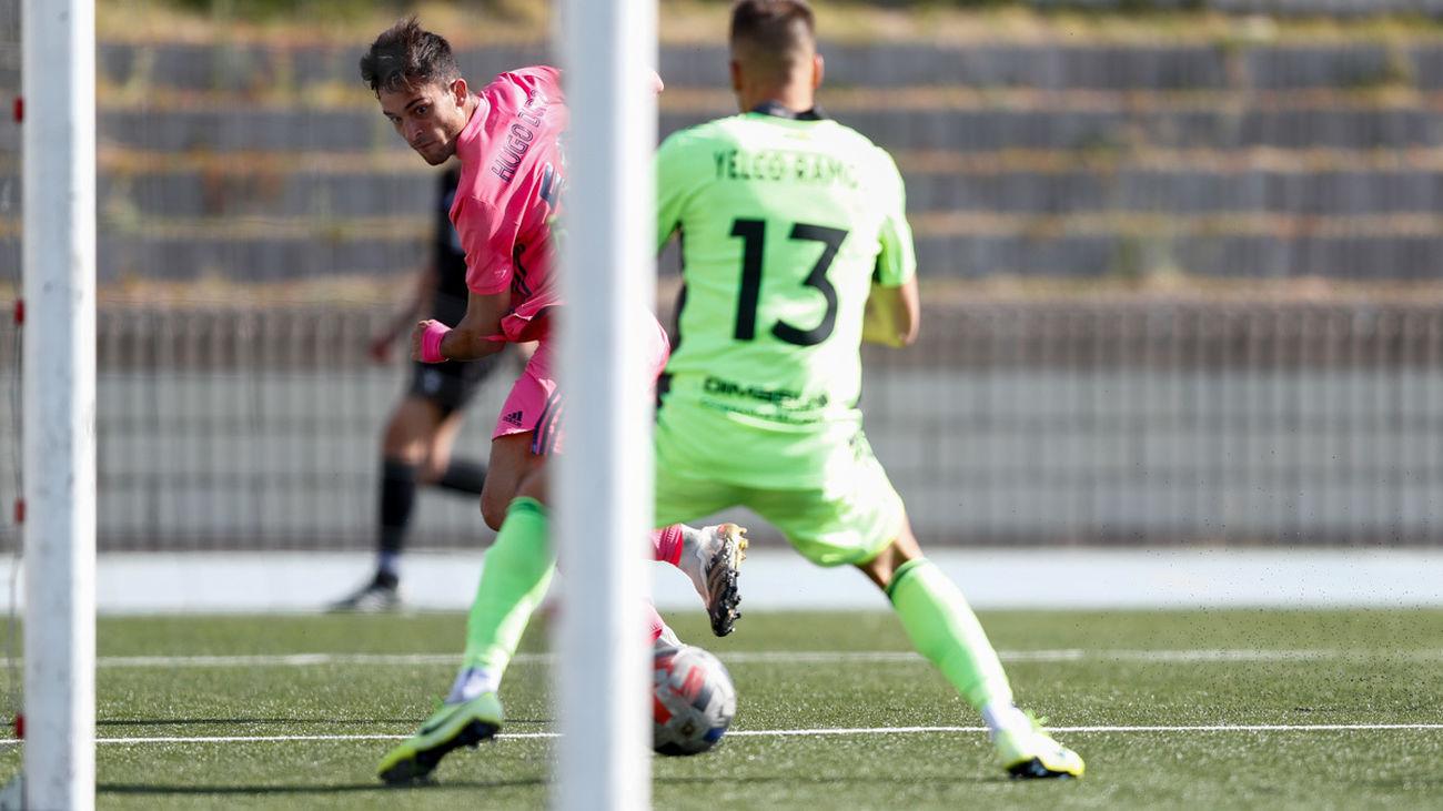 Hugo Duro, jugador del Castilla