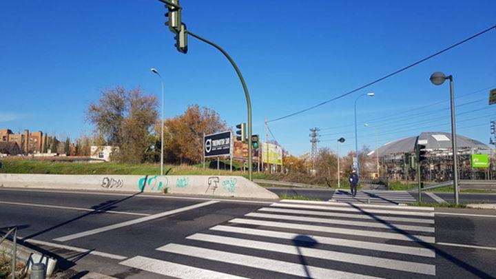 Carreteras mejorará el paso de la M-406 de Vereda de Estudiantes, en Leganés