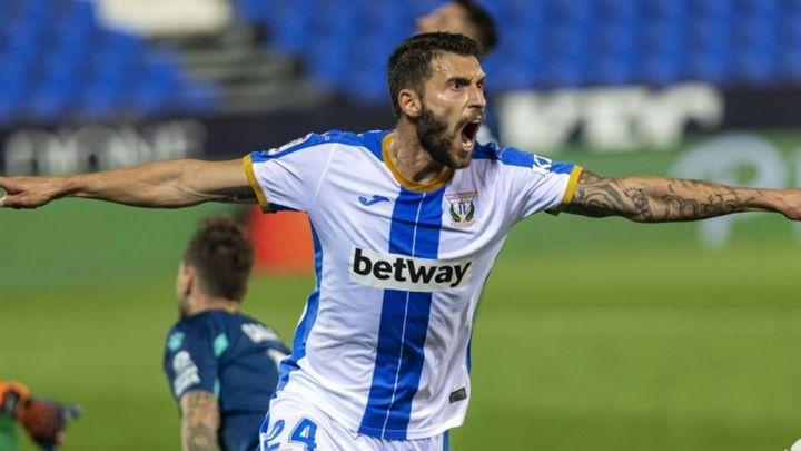 2-0. El Leganés exhibe músculo ante un Espanyol desdibujado