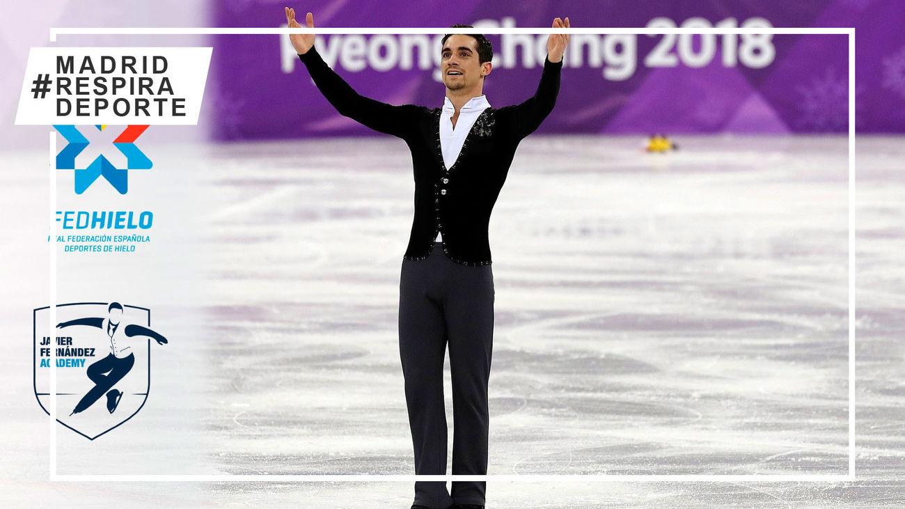 Javier Fernández y la Federación de Deportes de Hielo unen fuerzas para hacer crecer el patinaje artístico