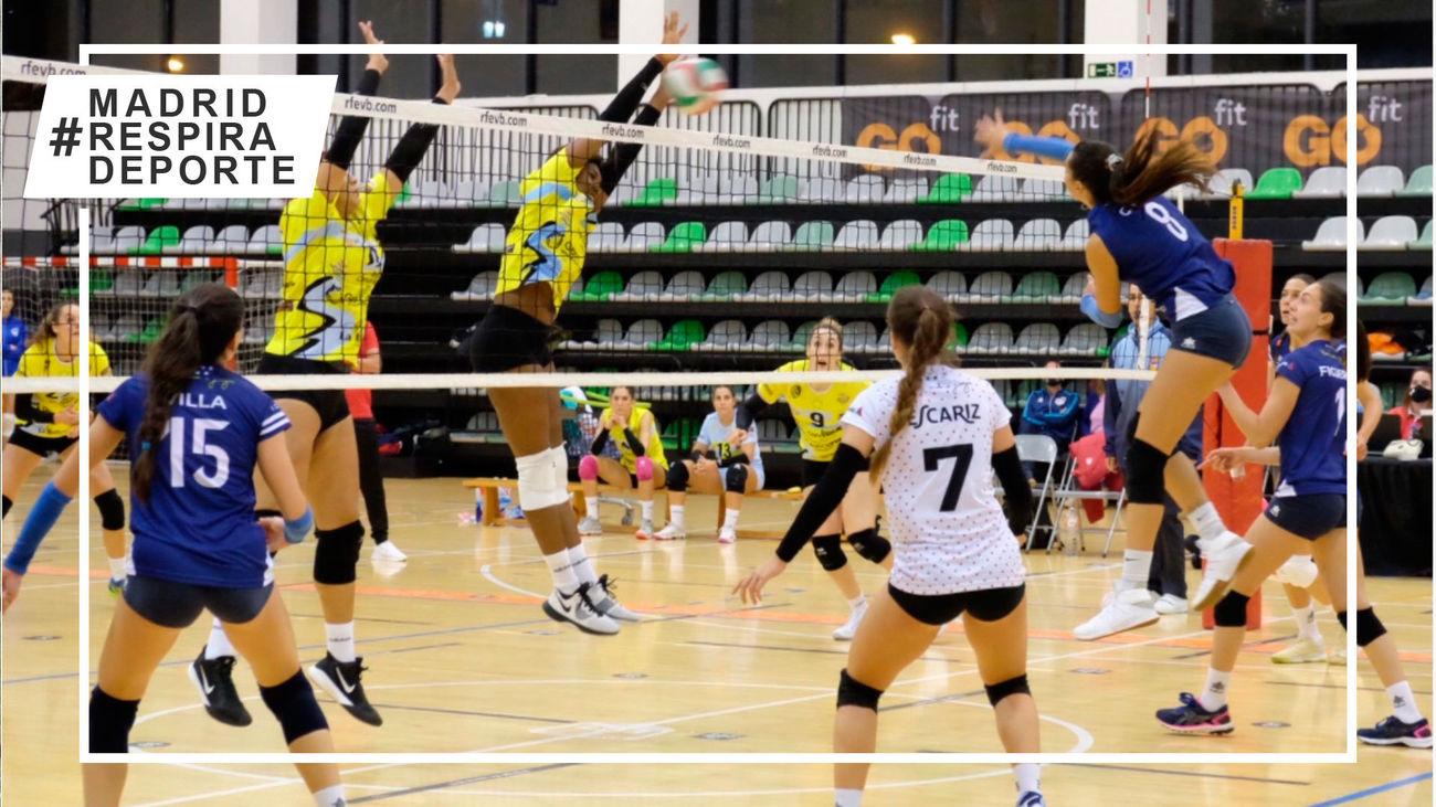 Sant Cugat-Voleibol Madrid, este sábado en Telemadrid.es