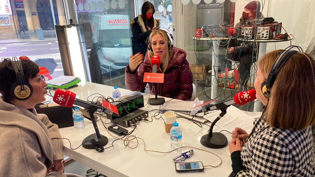 Roser y Mara presentan 'Entre divas' en Onda Madrid