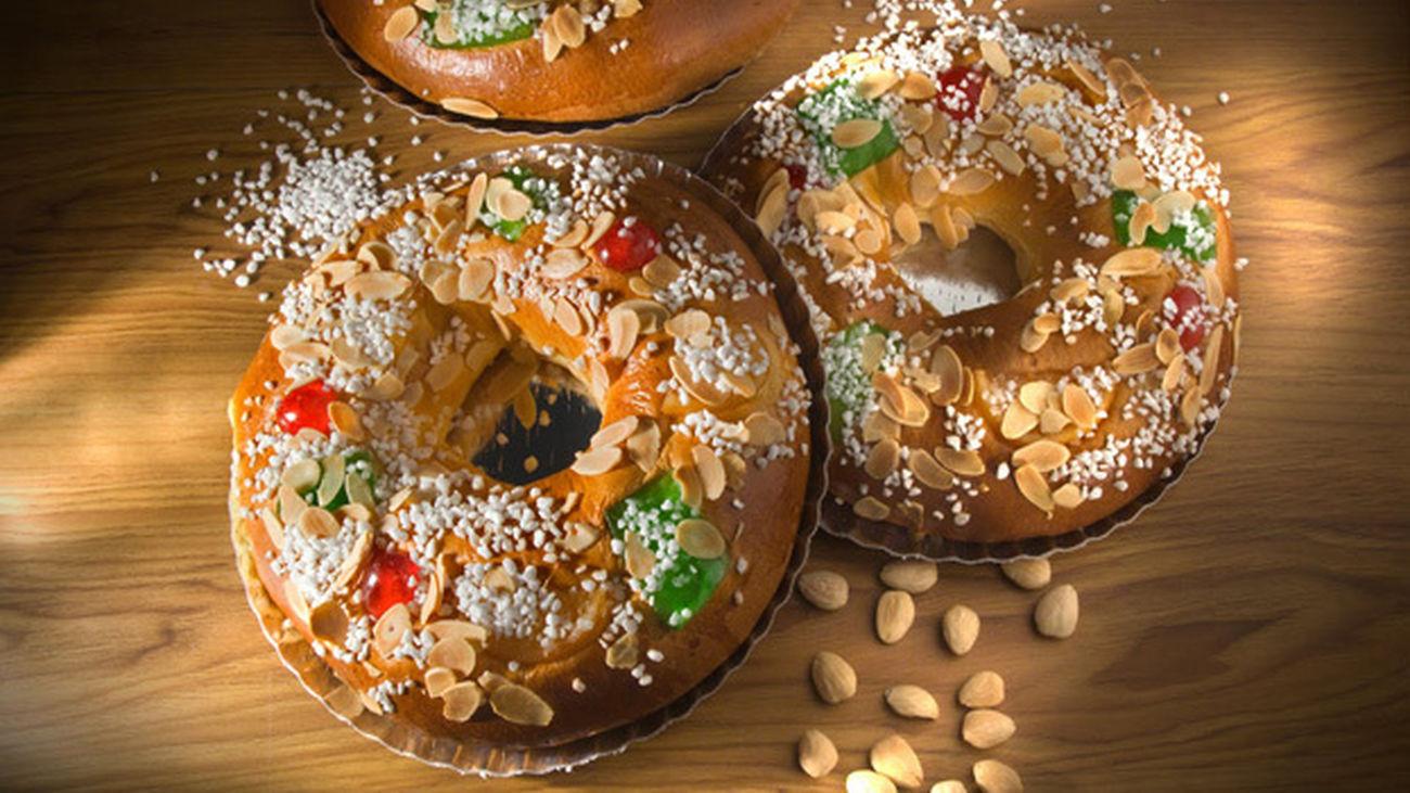 Los roscones de Reyes ya están en los escaparates de las pastelerías madrileñas