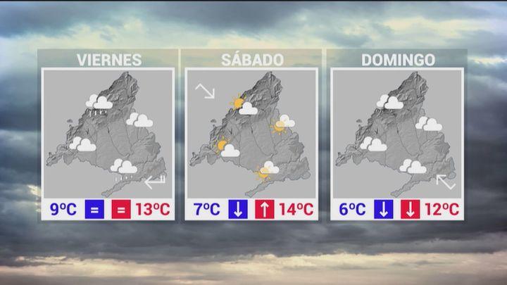 Madrid arranca la Navidad con riesgo amarillo por lluvias