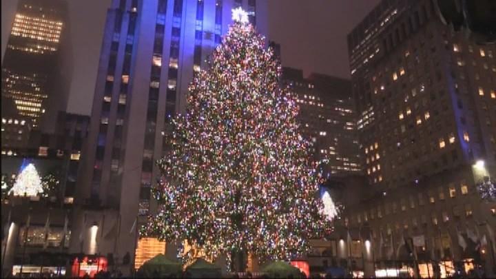¿Cuáles son los alumbrados navideños más famosos de Estados Unidos?