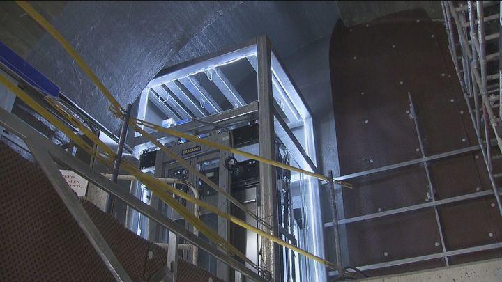 Las obras para los 7 nuevos ascensores de la estación de Metro de Tribunal acabarán en marzo