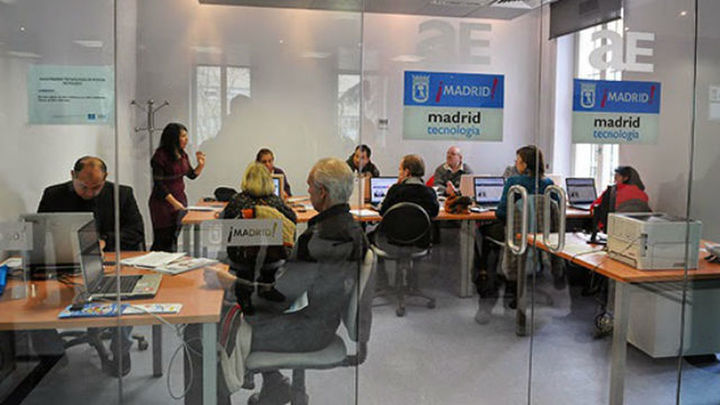El lunes se abre el plazo para cursos de formación en tecnología del Ayuntamiento de Madrid
