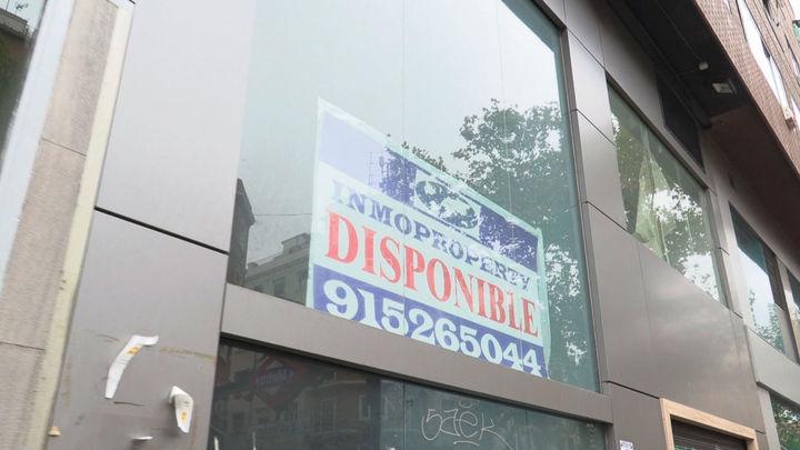 El drama del aumento de locales disponibles en Madrid