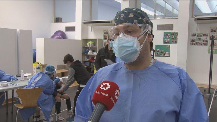 Realizan los test de antígenos para los vecinos de Villanueva de la Cañada