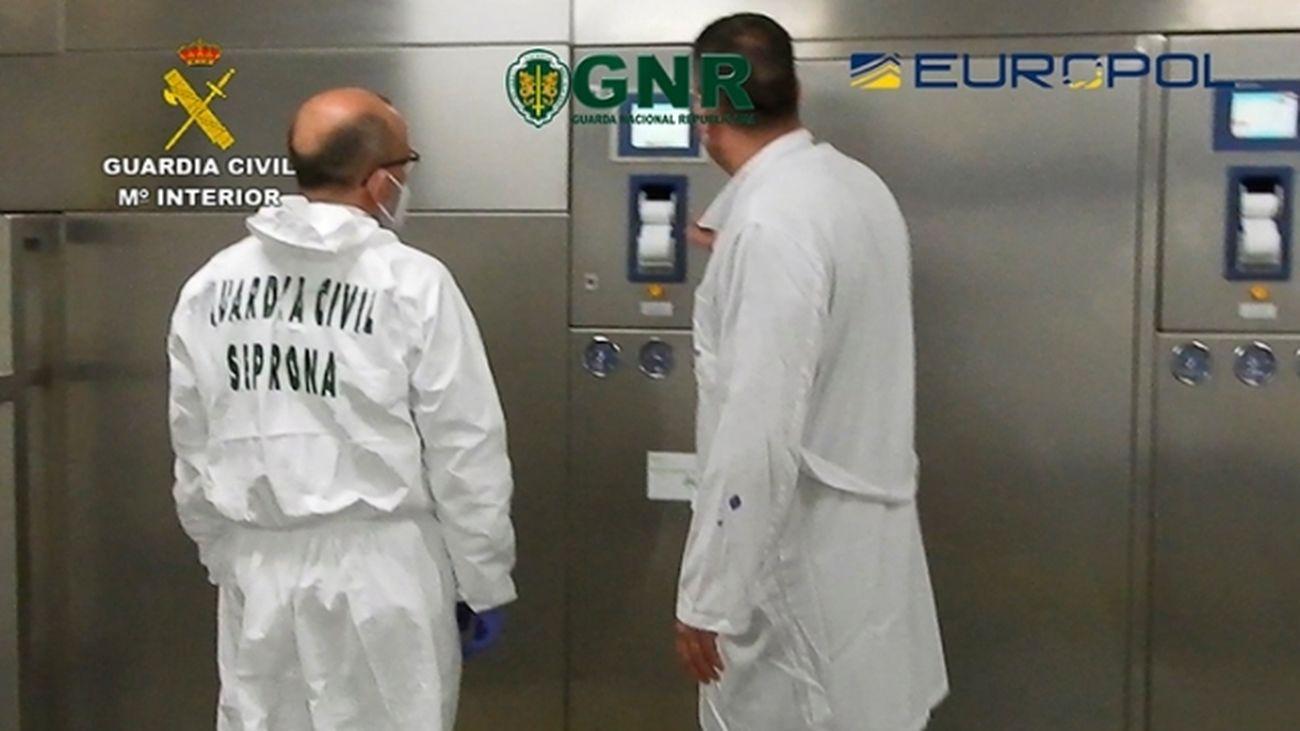 Veinte investigados por gestión irregular de residuos de la covid-19