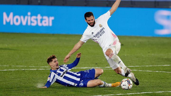1-2.  El Real Madrid vuelve a las andadas ante el Alavés