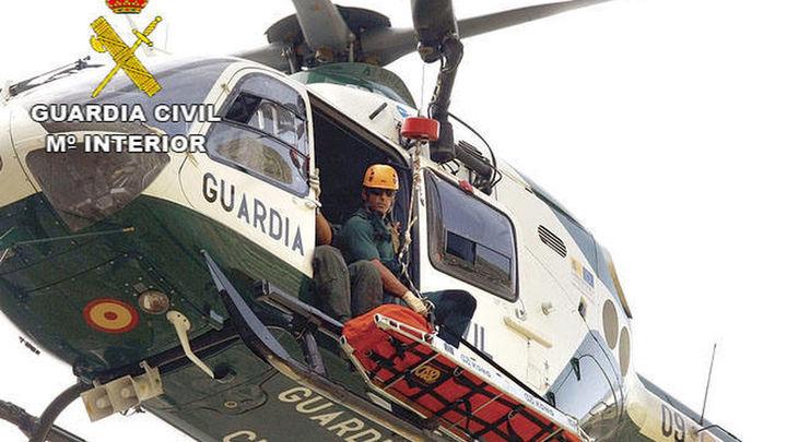 La Guardia Civil rescata a 5 senderistas, uno fallecido de infarto en Abantos