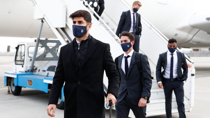 Así fue la llegada del Real Madrid a Kiev