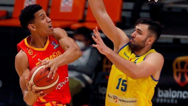 94-41. España, billete para el Eurobasket con paliza a Rumanía