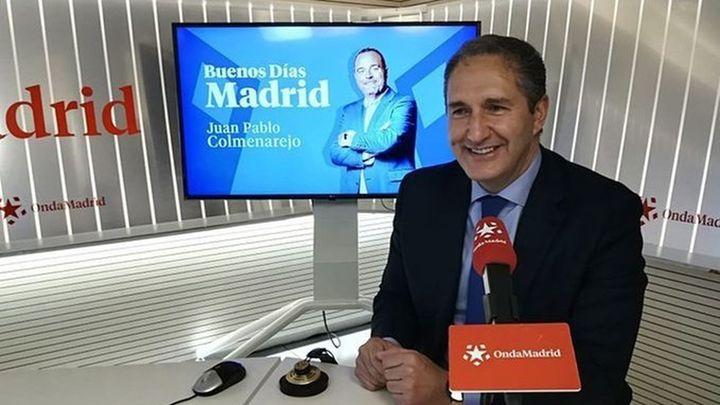 """José Cepeda: """"No me han invitado a la inauguración del Zendal, un hospital mal dimensionado y mal ubicado"""""""