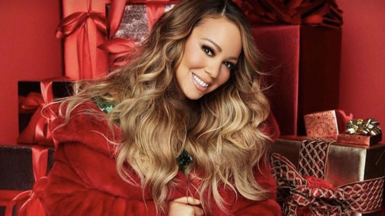 La artista Mariah Carey encabeza la lista de villancicos más escuchados