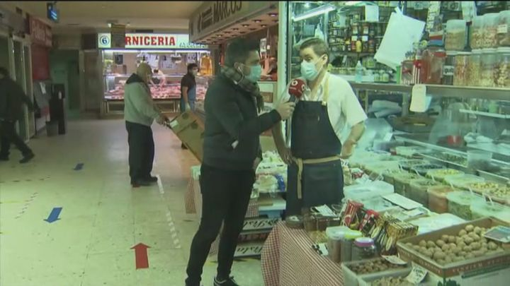 Los comerciantes de Móstoles creen que caerán las ventas por el cierre de la zona de Barcelona