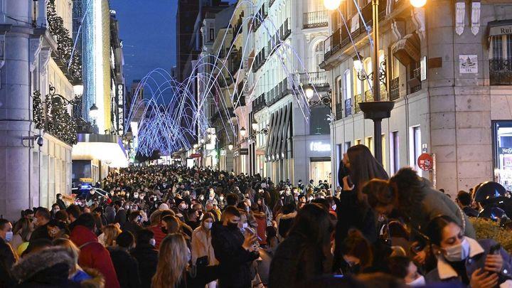 Preocupación por las aglomeraciones en zonas comerciales del centro de Madrid