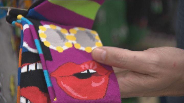 Una tienda de calcetines lucha por sobrevivir a la pandemia tras perder el 80% de sus ventas
