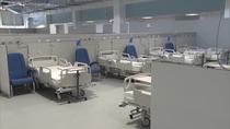 Telemadrid muestra las primeras imágenes del Hospital Isabel Zendal