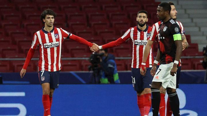 1-1. El Atlético empata con el Bayern y se jugará la clasificación ante el Salzburgo
