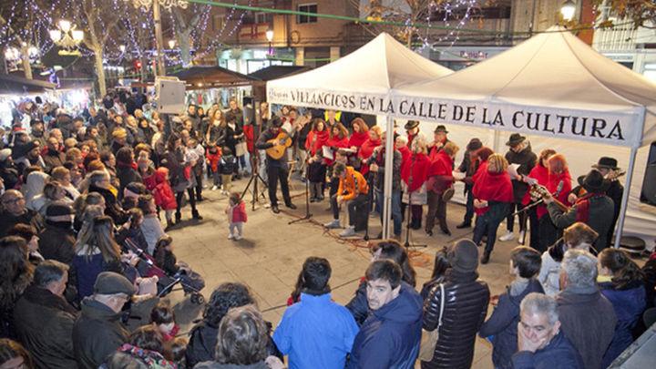 Leganés enciende este martes las luces de Navidad sin su tradicional esfera de 13 metros