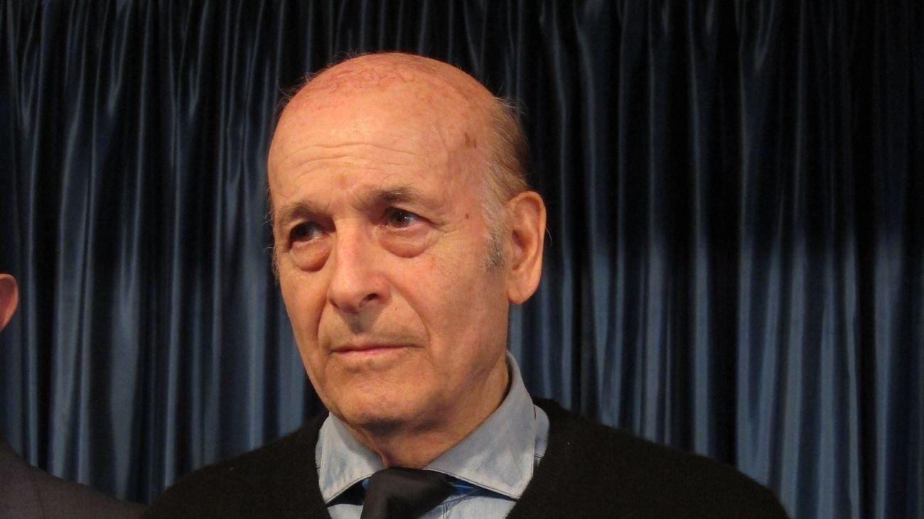 El expresidente de Cantabria Juan Hormaechea