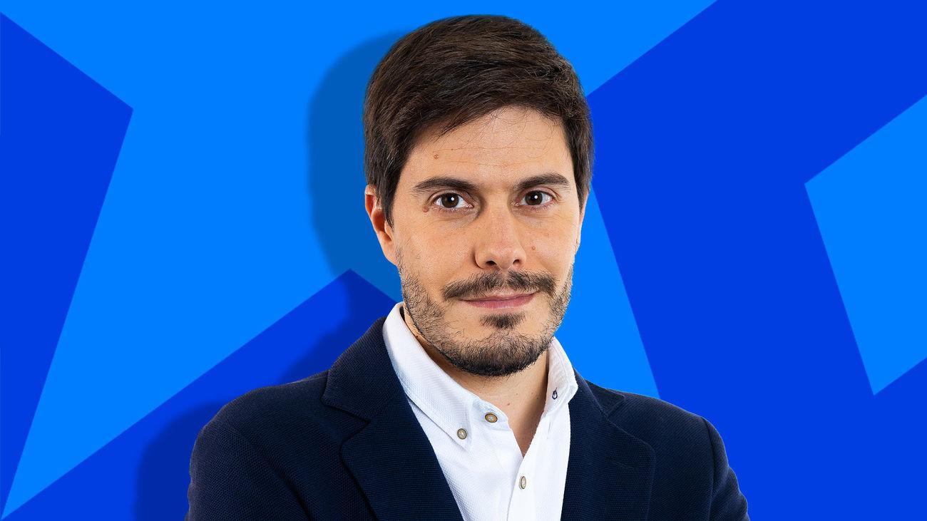 David Junquera presenta Noticias 14 hora en Onda Madrid