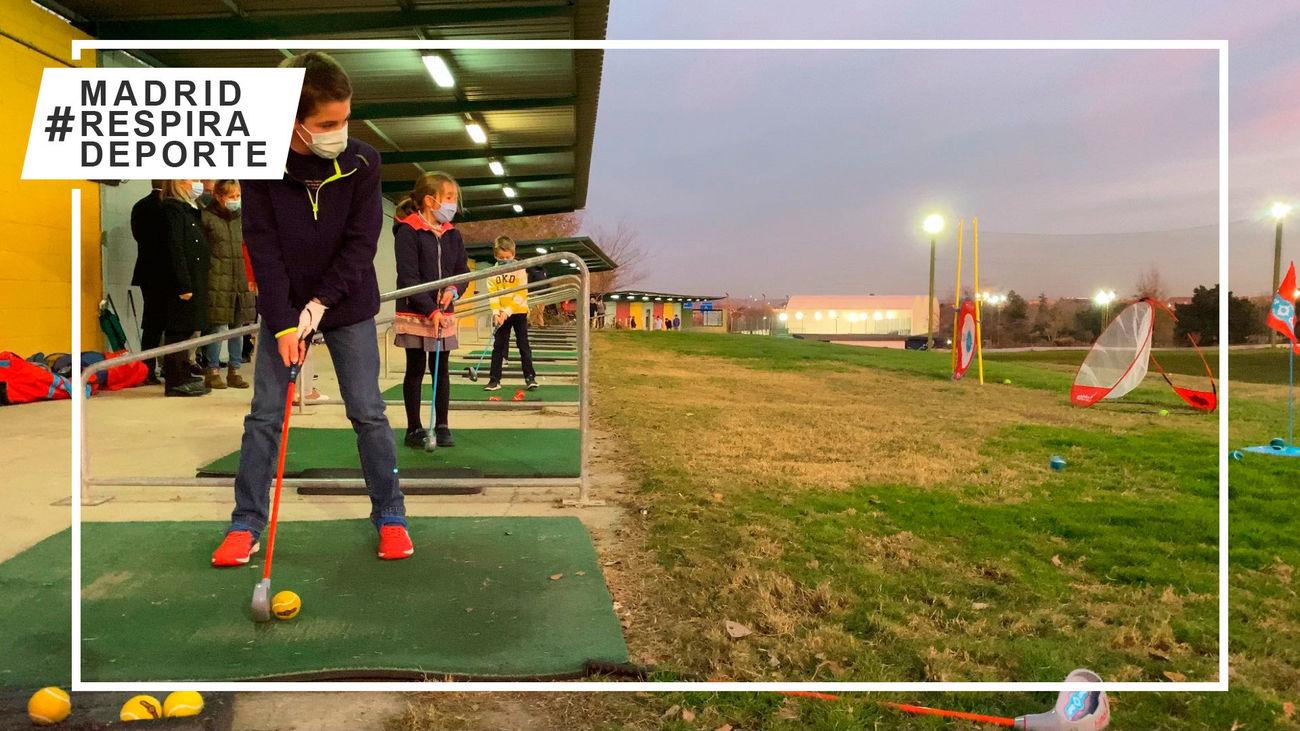 Escuela de golf de Barajas
