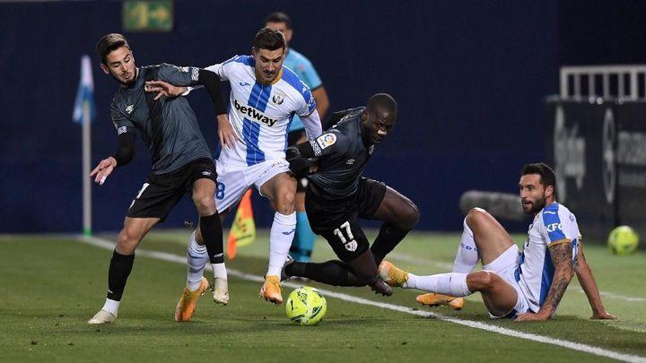 1-0. El Leganés se lleva el derbi ante el Rayo Vallecano