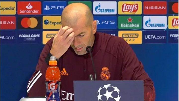 """Zidane: """"Para nada voy a dimitir, tengo fuerza y voy a darlo todo"""""""
