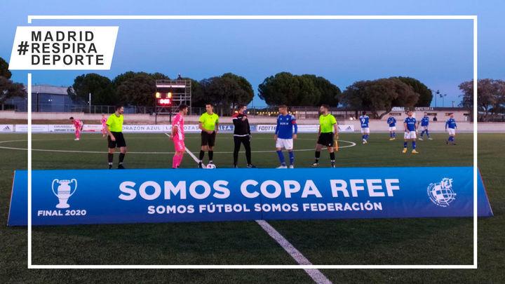 1-2. Las Rozas pierde en la prórroga la final de la Copa RFEF ante el Llagostera