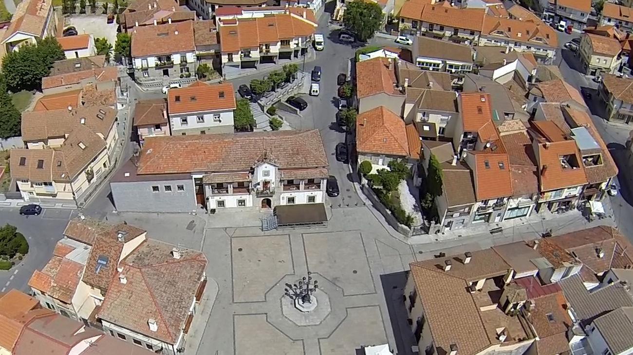 Imagen aérea de Los Molinos