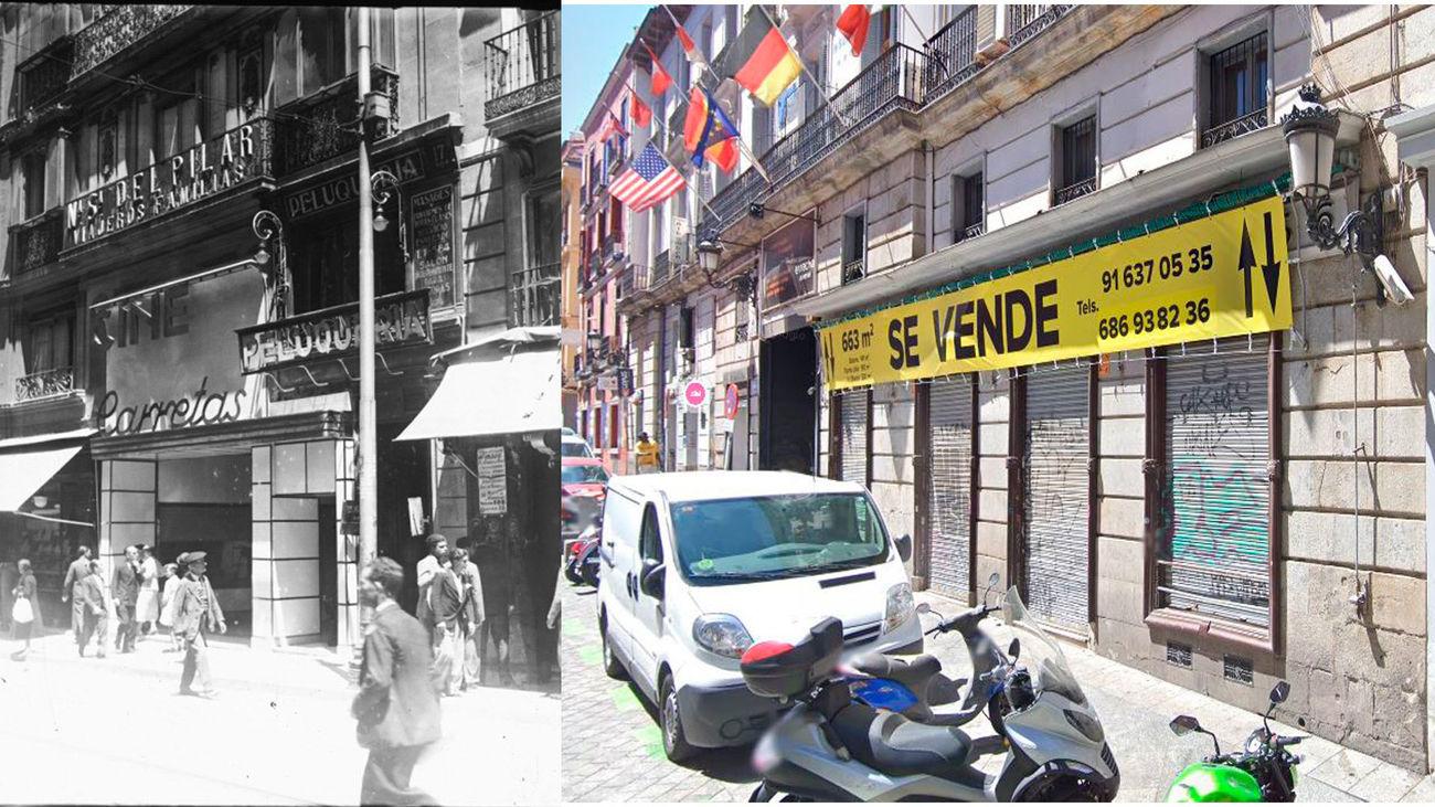 Cine Carretas antes y ahora