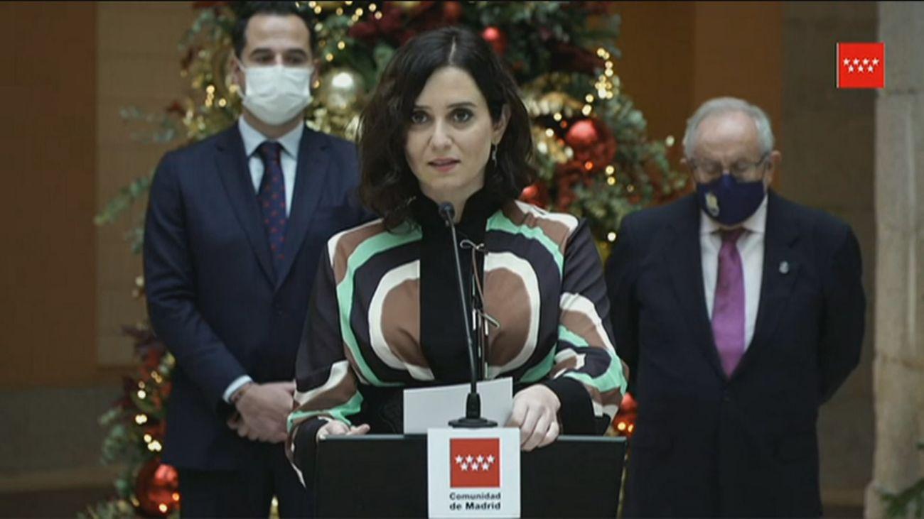 Madrid avisa al Gobierno que recurrirá al Constitucional el pacto de armonización con ERC