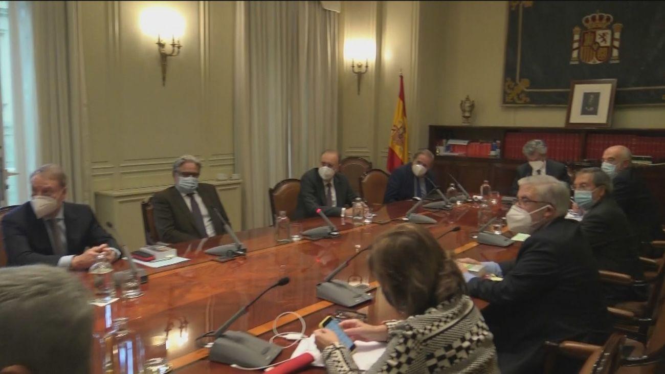 Proposición de ley de PSOE y Podemos para impedir nombramientos del Poder Judicial en funciones